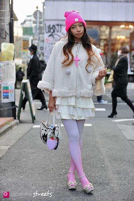 130217-3588 - Japanese street fashion in Harajuku, Tokyo